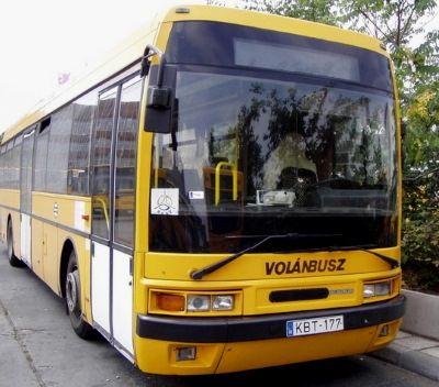 Villány közlekedés - volánbusz